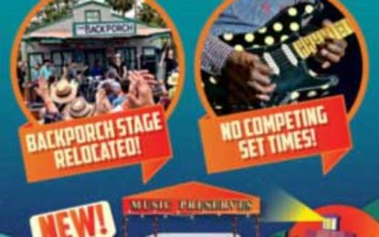 Doheny Blues Fest Backporch plus Music Preserves Stage