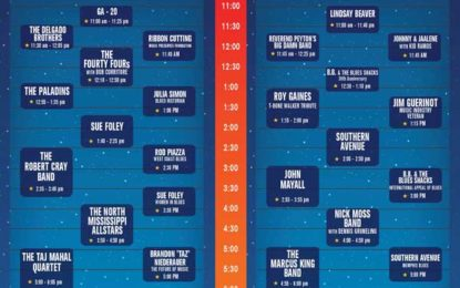 Doheny Performance Schedule Announced!