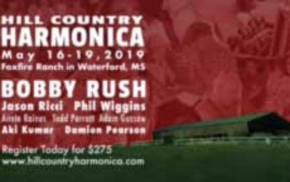 Hill Country Harmonica May 16-19, 2019