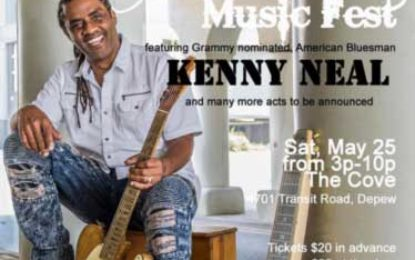 Nurs'n Blues Music Fest featuring Kenny Neal May 25
