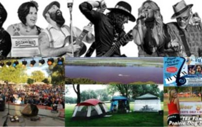 22st Annual Prairie Dog Blues Fest July 26-27, 2019
