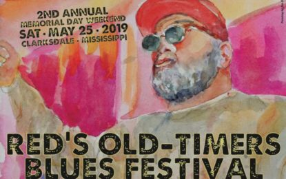 2nd Annual Red's Old-Timers Blues Festival May 25