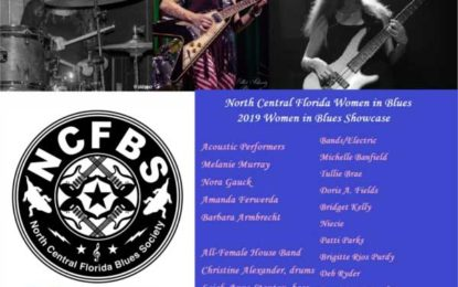 Women in Blues Showcase May 19th in Florida