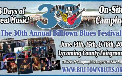 30th Billtown Blues Festival – 3 Days of Music & Camping June 14-16