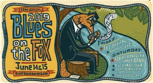 Blues On The Fox