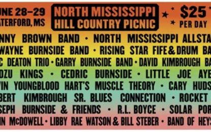 June means it's time for the North Mississippi Hill Country Picnic