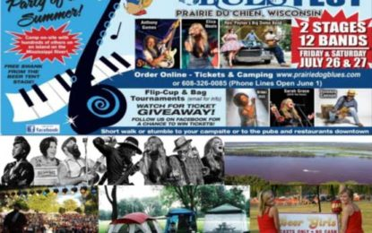 22nd Anniversary Prairie Dog Blues Fest Tickets and Camping Available Now