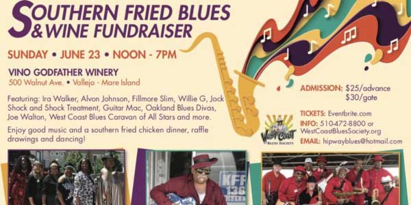 Southern Fried Blues & Wine Fundraiser