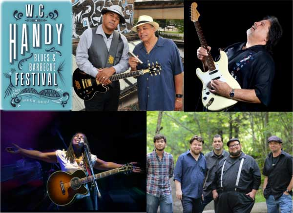 W.C. Handy Blues and Barbecue Festival