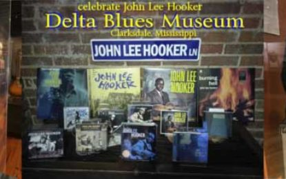 August is John Lee Hooker Month at the Delta Blues Museum