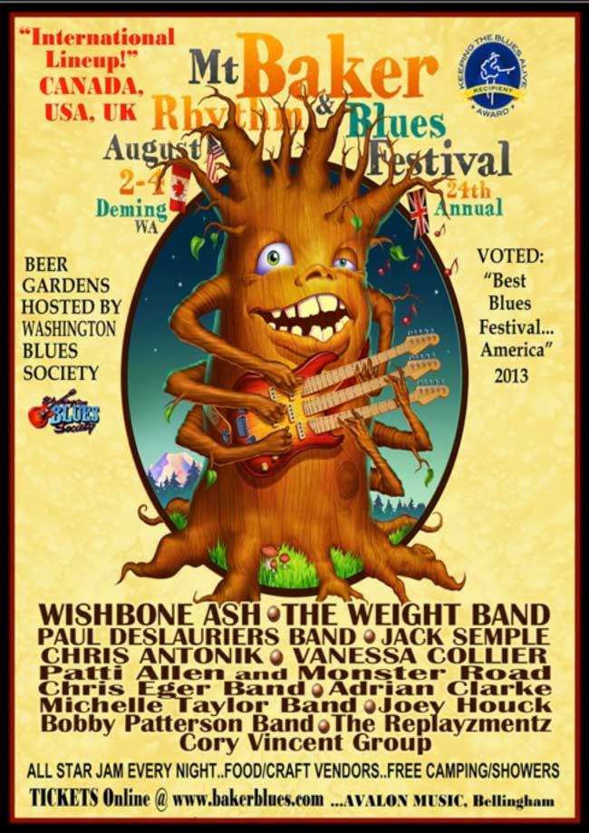Mount Baker Rhythm & Blues Festival