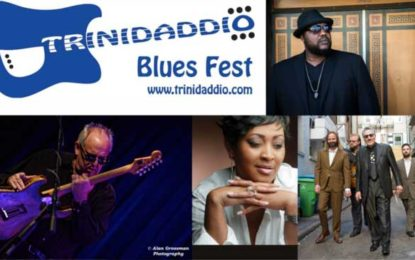 World Class Lineup at Trinidaddio Blues Fest 2019! Tickets On Sale Now!