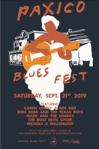 Annual Paxico Blues Festival