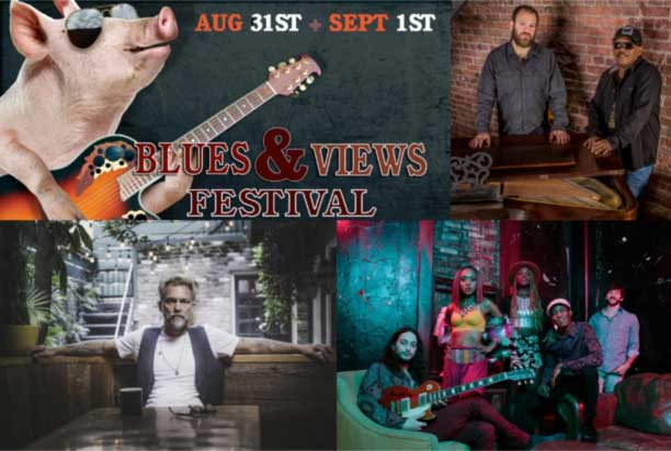 Smokin' Hot Blues & Views Festival