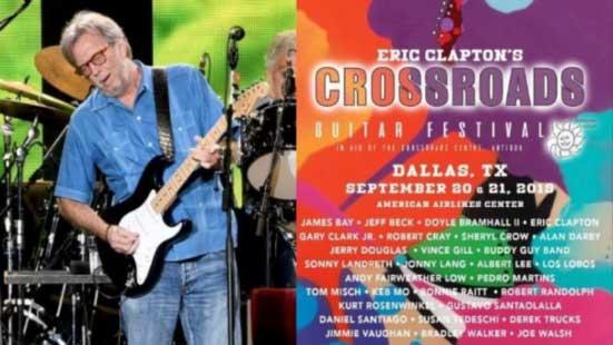 Eric Clapton Crossroads Guitar Festival 2020.Crossroads Blues Festival 2020 Festival 2020