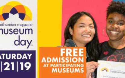 Smithsonian Magazine's 15th Annual Museum Day Free at Delta Blues Museum Sept 21