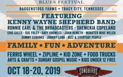 Check out Big Names at the Inaugural Bigfoot Blues Festival Oct 18-19
