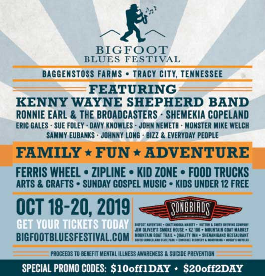 Bigfoot Blues Festival
