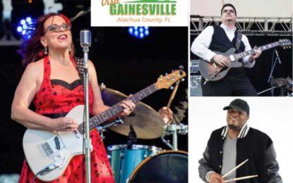 Liz Mandeville & The Blue Points headline Gainesville, Florida's free Downtown Blues Concert