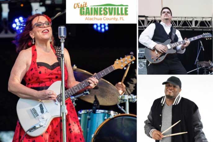 Gainesville Downtown Blues Concert