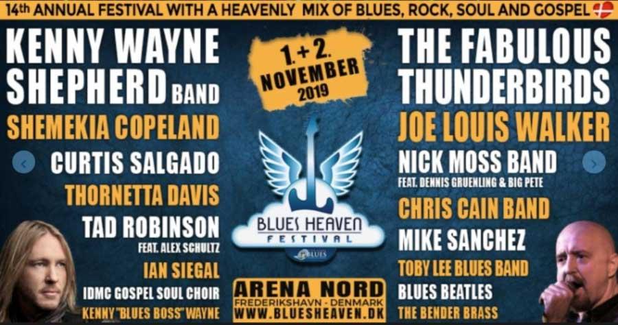 High Caliber Blues Heaven Festival
