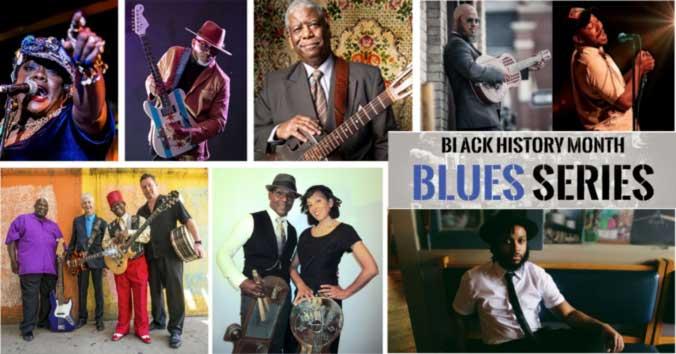 Black History Month Blues Series