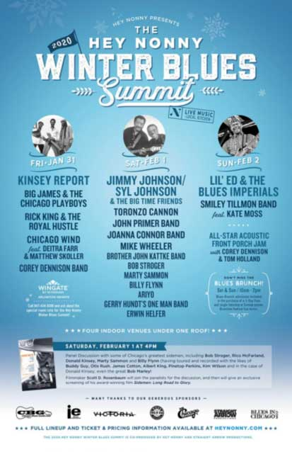 Hey Nonny's Winter Blues Summit