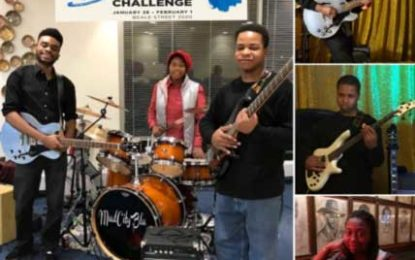 Chicago's MudCity Blu Youth Band at the IBC 2020