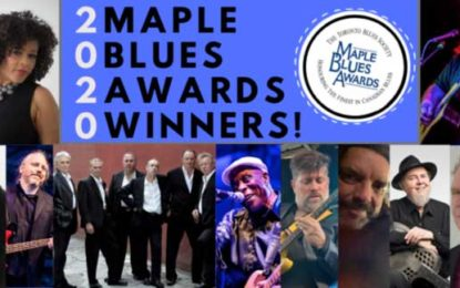 Winners of The 23rd Maple Blues Awards