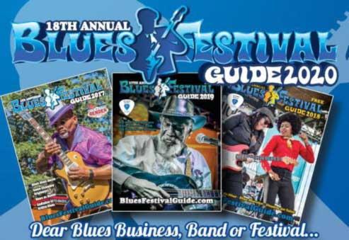 Blues Festival Guide magazine