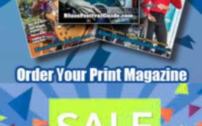 Blues Festival Guide Magazine Half-Price Offer