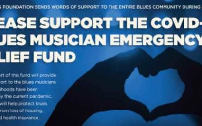 Blues Foundation's Blues Musician Emergency Relief Fund