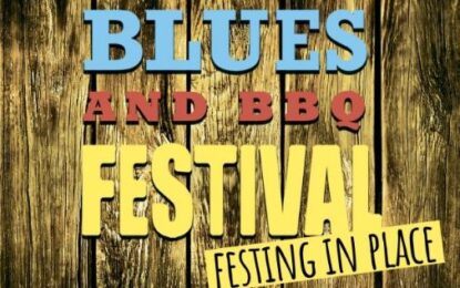 """Crescent City Blues & BBQ Festival """"Festing in Place"""" October 16-15, 2020"""