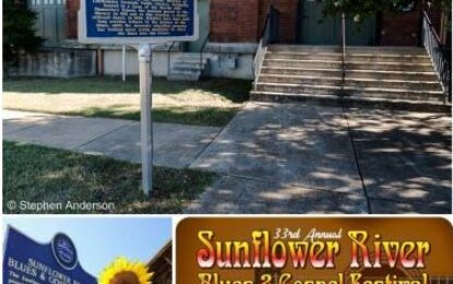 MS Blues Trail Series: Delta Blues Museum and the Sunflower River Blues & Gospel Festival
