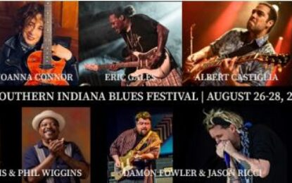 Southern Indiana Blues Festival Aug 26-28 in Bean Blossom