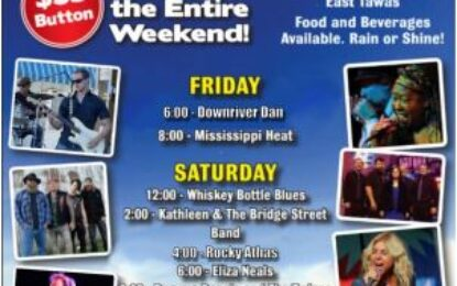 Tawas Bay Blues Society's Blues By The Bay Aug 27-29